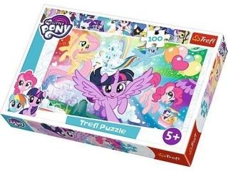 "Puzzle ""100 Têczowa kraina""  / Hasbro, My Little Pony"