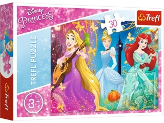 """Puzzle """"30 Zaczarowana melodia"""" / Disney Princess"""