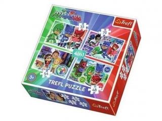 "Puzzle ""4w1 - Dru¿yna pid¿amersów""  / E1 PJ Masks"