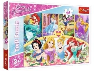 "Puzzle ""24 Maxi"" - Magia wspomnieñ / Disney Princess"