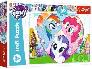"""Puzzle 18241 - """"30"""" - Razem lepiej / Hasbro, My Little Pony"""