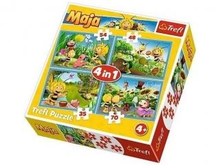 """Puzzle """"4w1"""" - Przygody Pszczó³ki Mai"""