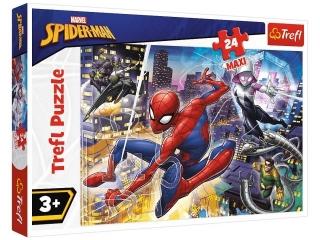 """Puzzle """"24 Maxi Nieustraszony Spider-Man"""""""