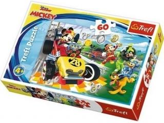 """Puzzle """"60"""" - Rajd z przyjació³mi / Disney Mickey and the Ro"""