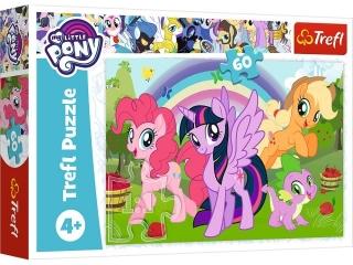 """Puzzle """"60 Têczowa przyja¼ñ / Hasbro My Little Pony"""""""