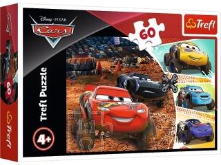 """Puzzle """"60 Zygzak McQueen z przyjació³mi"""" / Disney Cars 3"""