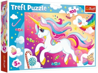 "Puzzle ""100"" - Piêkny jednoro¿ec / Trefl"