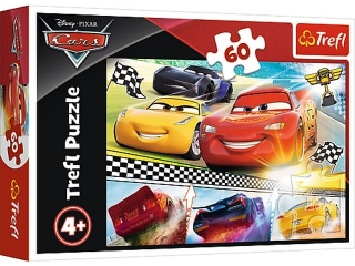"Puzzle ""60"" - Legendarny wy¶cig / Disney Cars 3"