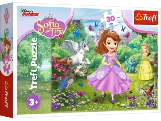 "Puzzle ""30"" - Zosia w ogrodzie / Disney Sofia the First"