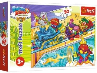 """Puzzle """"30 - Super Zings - w pogoni za przygod±!"""