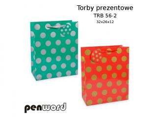 TORBY PREZENTOWE TRB 56-2 32x26x12 [opakowanie=12szt]