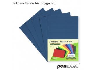 TEKTURA FALISTA A4 INDYGO a5