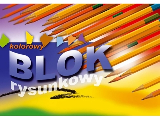 Blok rys. kolorowy A4-16[opakowanie=10szt]