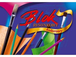 Blok rys. kolorowy A3-16 [opakowanie=10szt]