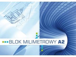 Blok milimetrowy A2-20