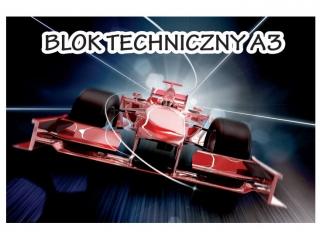 Blok techniczny A3 BIA£Y [opakowanie=20szt]