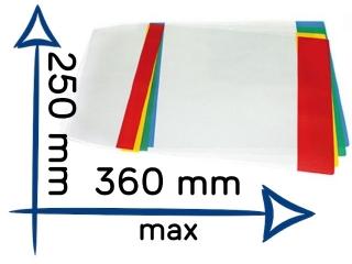 Ok³adka na zeszyt B5 regulowana nr03 250x360mm [opakowanie=2