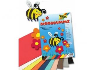 Arkusze piankowe mix 10 kolorów, 20x29cm, Folia [opakowanie=