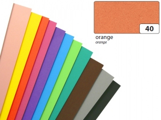 Arkusze piankowe, pomarañczowy, 20x29cm, 10 ark, Folia [opak