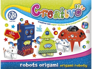 Astra Creativo - Origami roboty