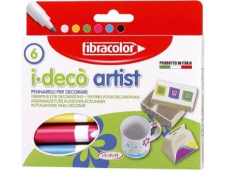 Mazaki Dekoracyjne I-Deco ARTIST x6